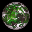 Royalty-Free Stock Photo: Green planet.