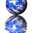 Royalty-Free Stock Photo: Blue planet.