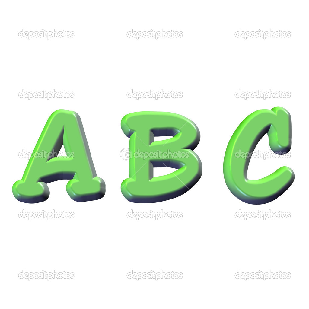 ABC — Stock Photo #1160094