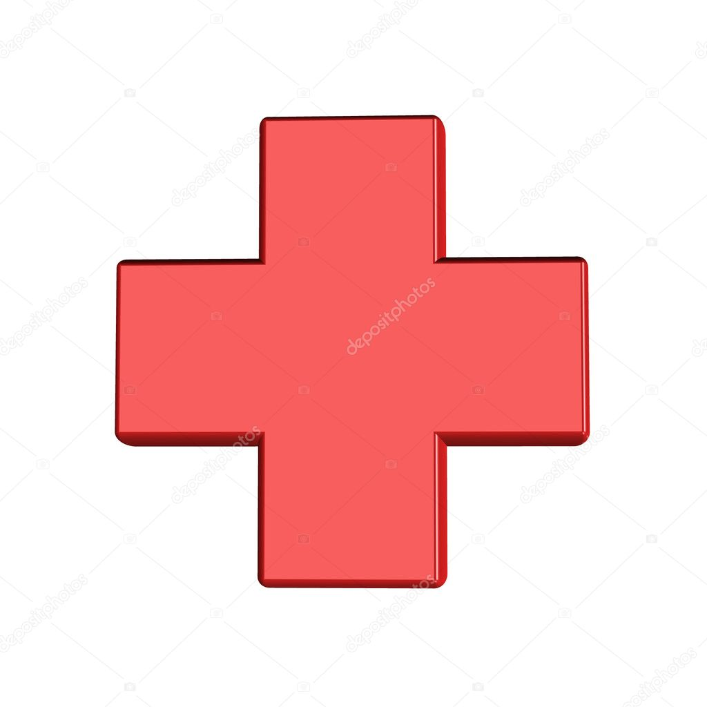 Pharmacy cross. — Stock Photo #1160452