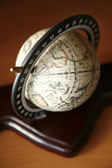 Small retro globe — Stock Photo
