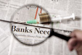 Acento financiero — Foto de Stock