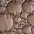 Copper circle pattern cloth — Stock Photo