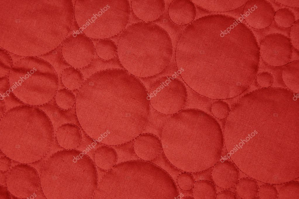 Circle quilted cloth as a background  Stock Photo #1618308