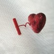 Stock Photo: Uncorking a heart