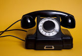 Old telephone — Stockfoto