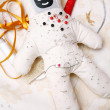 Pin and needle doll — Stock fotografie #2247187