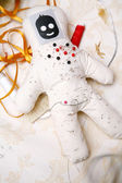 Pin and needle doll — Stock Photo