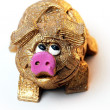 Stock Photo: Toy pig