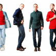 Stock Photo: 6 men