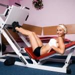 Girl in sports — Stock Photo #1259544