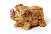 Toy pig — Stock Photo