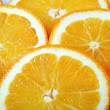 Slices of juicy ripe orange — Stock Photo