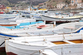 Boats berthed — Stock Photo