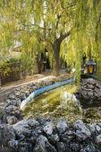 Parte romantica del parco — Foto Stock