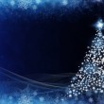Abstract grunge christmas tree — Stock Photo