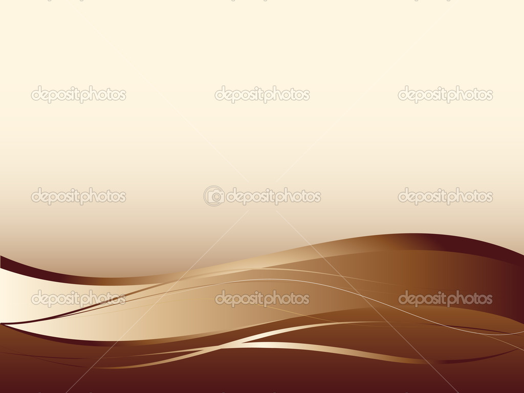 Background with abstract smooth lines, a grid and waves — ベクター素材ストック #1119749