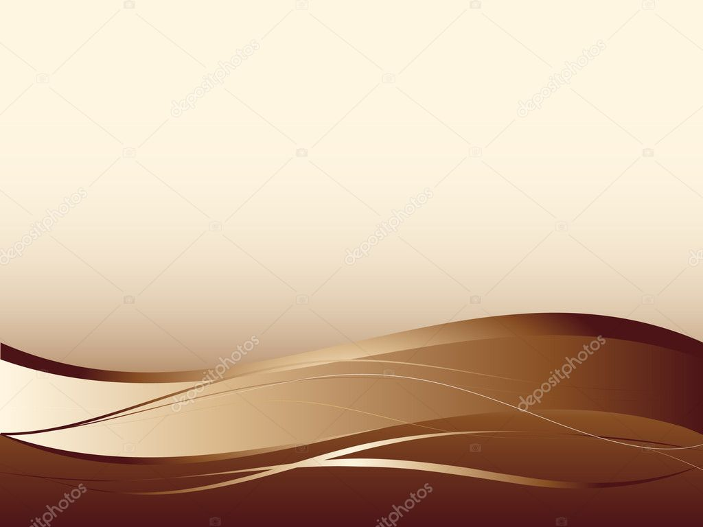 Background with abstract smooth lines, a grid and waves — Imagen vectorial #1119749