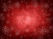 Ice red christmas background — Stock Photo