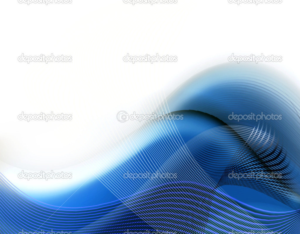 Blue and white abstract modern background  Stock Photo #1121838