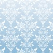 Vetorial Stock : Blue decorative ornament
