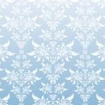 Blue decorative ornament — Stock Vector