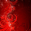 Royalty-Free Stock Photo: Christmas red background