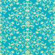 Vetorial Stock : Decorative seamless floral ornament