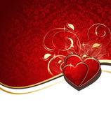 Valentines achtergrond — Stockvector