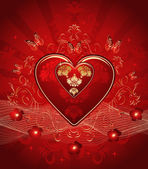 Pink vector hearts — Stock Vector