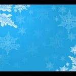 lo schermo con un fiocco di neve — Foto Stock