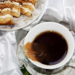 Tea and cakes — Stockfoto