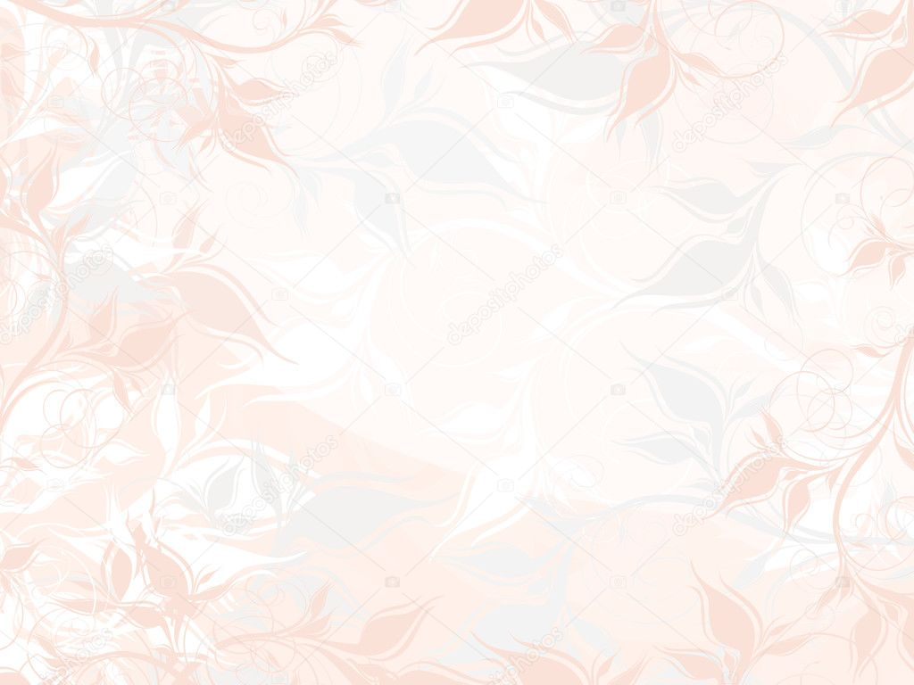 Vector pastel floral background with pattern — Stock Vector #2443140