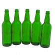 Royalty-Free Stock Photo: Beer bottles  isolated