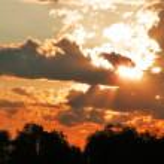 Golden sunset — Stock Photo #1120975
