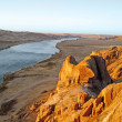 Stock Photo: Central Asia, river lli, Kazakhstan