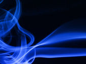 Color smoke as background — Stock Photo