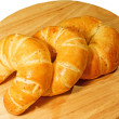 Royalty-Free Stock Photo: Group of croissant
