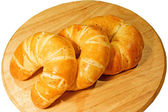 Group of croissant — Stock Photo