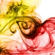 Royalty-Free Stock Photo: Smoke abstract backgrounds