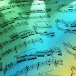 Musical note as background — Stock Photo #1164040