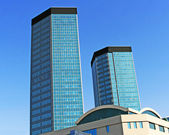 Building, skyscraper — Stock Photo