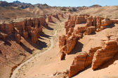 Canyon Charyn, Central Asia, Kazakhstan — Foto Stock