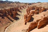 Canyon Charyn, Central Asia, Kazakhstan — Stock Photo