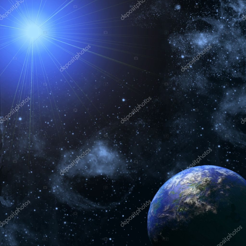 Star and space  Stock Photo #1162622