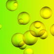 Illustration of bubble in water — Stock Photo