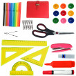 Stock Photo: Stationery set for office