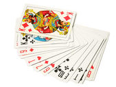 Playing-cards — Foto Stock