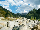 Mountain landscape, Central Asia — Stock Photo