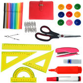 Stationery set for office — Stock Photo